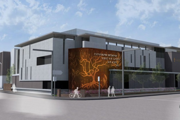 College signs off on artwork concept for new multipurpose hall