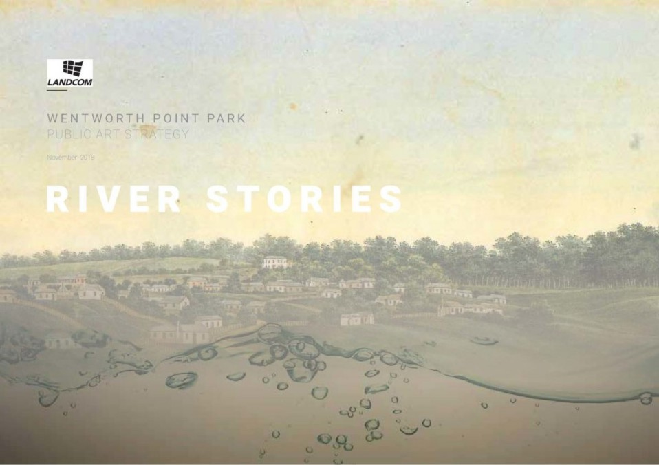 Delivering artworks for a new Parramatta River park